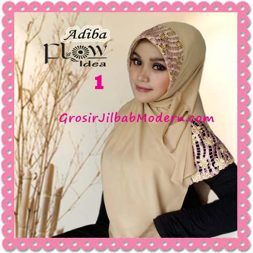 Jilbab Instant Syria Modis Adiba Original by Flow Idea No 1 Cream