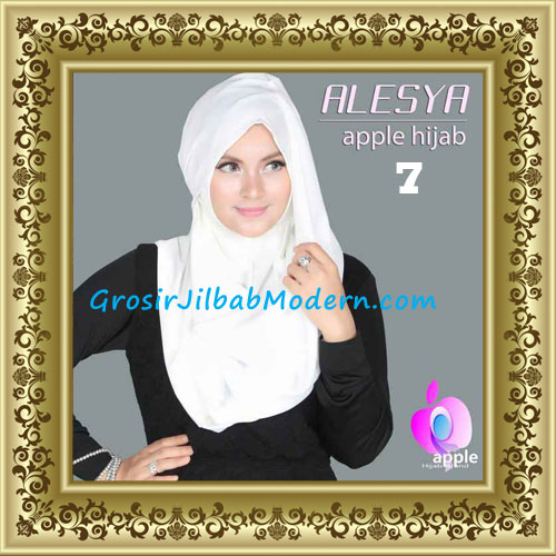 Jilbab Pashmina Instant Alesya Hana Premium by Apple Hijab Brand No 7