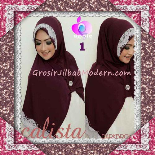 Jilbab Instant Modis Arzeti Calista Premium Original By Apple Hijab Brand No 1