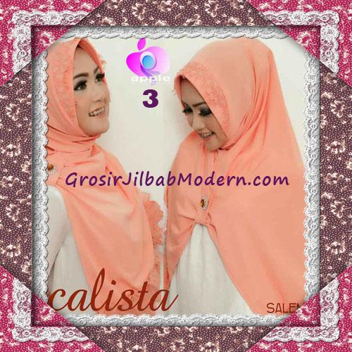 Jilbab Instant Modis Arzeti Calista Premium Original By Apple Hijab Brand No 3 Salem