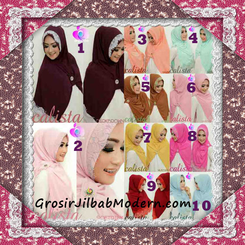 Jilbab Instant Modis Arzeti Calista Premium Original By Apple Hijab Brand Series