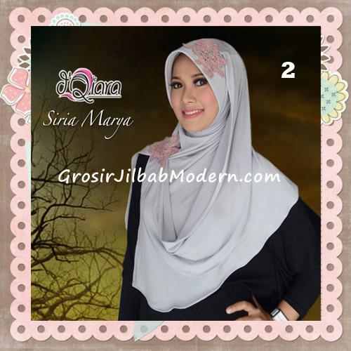 Jilbab Instant Modis Syria Marya Cantik Original By d'Qiara Brand No 2