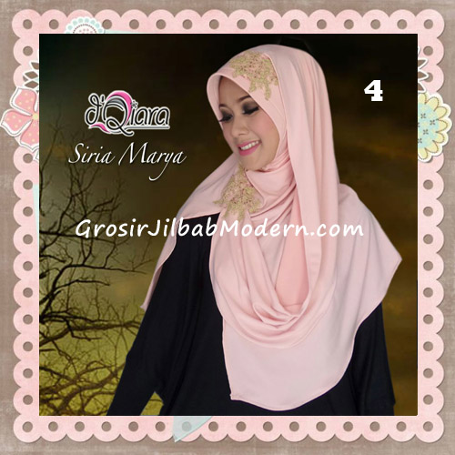 Jilbab Instant Modis Syria Marya Cantik Original By d'Qiara Brand No 4