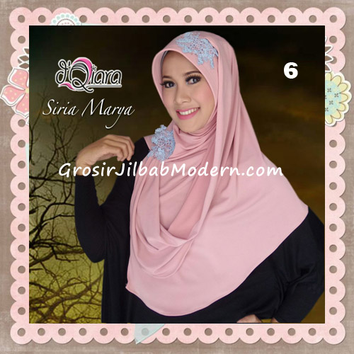 Jilbab Instant Modis Syria Marya Cantik Original By d'Qiara Brand No 6