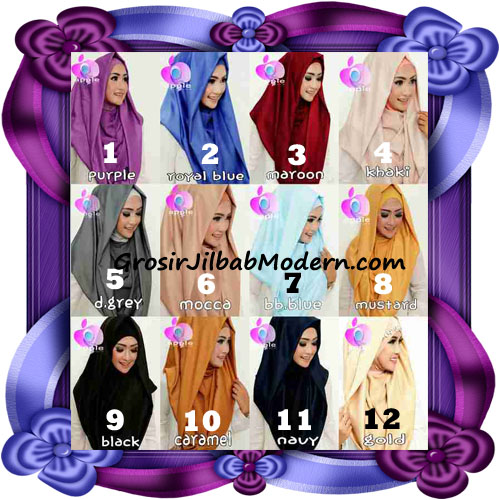 Jilbab Instant Modis Terbaru Deeja Cavali Hoodie Seri 2 Exclusive Original by Apple Hijab Brand Series