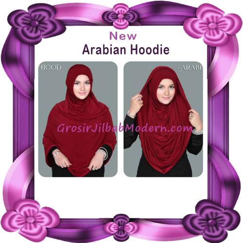 Jilbab Instant New Arabian Hoodie Simple dan Elegan By Apple Hijab Brand -  Cara Pakai