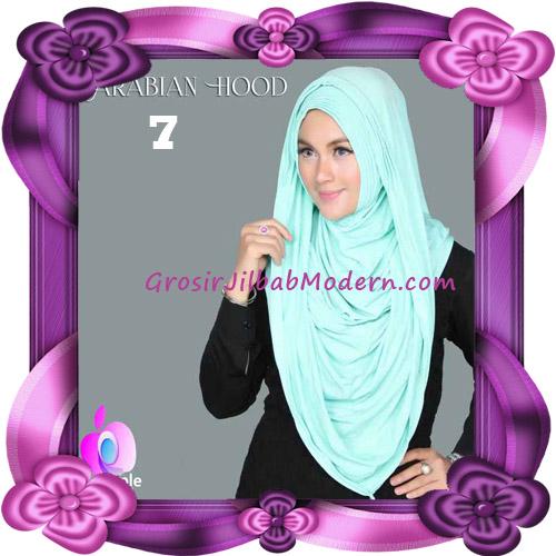 Jilbab Instant New Arabian Hoodie Simple dan Elegan By Apple Hijab Brand No 7 Mint
