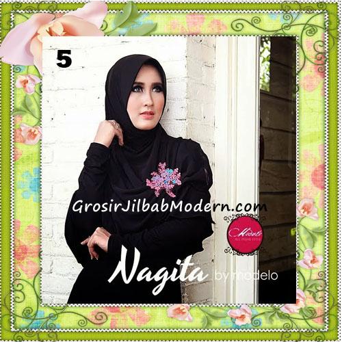 Jilbab Instant Terbaru Modis Nagita Seri 2 Original by Modelo No 5