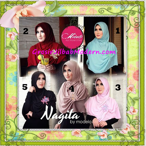 Jilbab Instant Terbaru Modis Nagita Seri 2 Original by Modelo Series