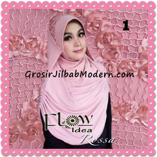 Jilbab Modern Syria Rossa Cantik Original By Flow Idea No 1 Pink