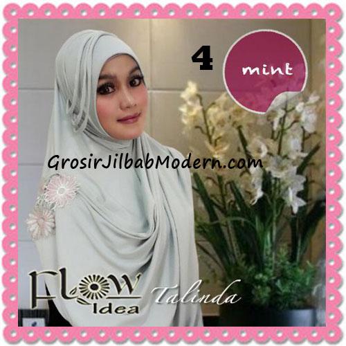 Jilbab Syria Pashmina Instant Cantik Terbaru Talinda by Flow Idea No 4 Mint