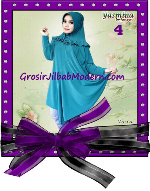 Jilbab Bergo Lengan Modis dan Cantik Yasmina Original By Fadeya No 4 Tosca