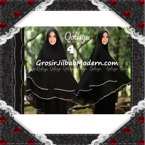Jilbab Cerutti Jumbo Khimar Syar'i Taqiya Terbaru Original By Qalisya No 4
