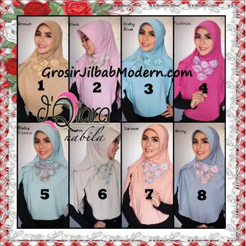 Jilbab Instant Modern Nabila Ala Artis Dian Sastro Original d'Qiara Brand Series