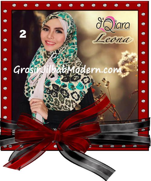 Jilbab Instant Syria Leona Modis Original by d'Qiara Brand No 2