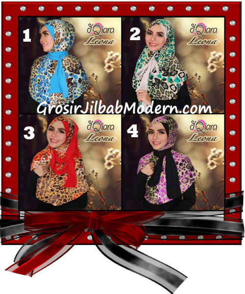 Jilbab Instant Syria Leona Modis Original by d'Qiara Brand Series