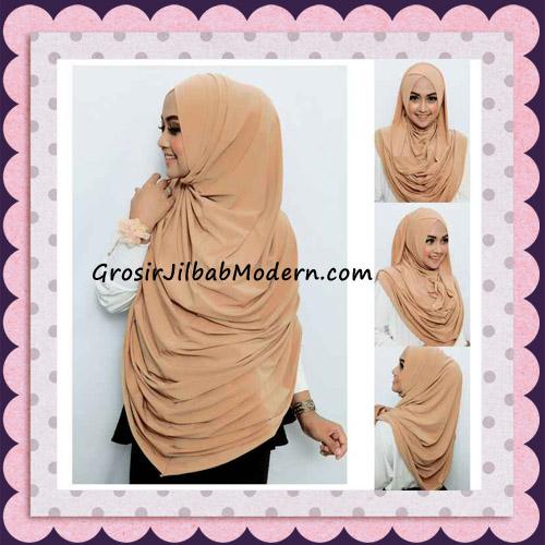 Jilbab Instant Syria Long Qonita Hoodie Cantik Original Apple Hijab Brand