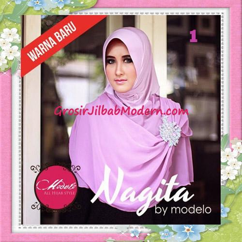 Jilbab Instant Terbaru Trendy Nagita Seri 3 Original by Modelo No 1