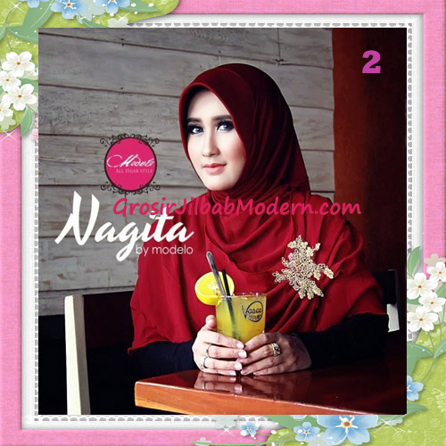 Jilbab Instant Terbaru Trendy Nagita Seri 3 Original by Modelo No 2