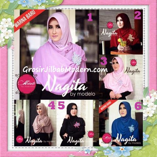 Jilbab Instant Terbaru Trendy Nagita Seri 3 Original by Modelo Series