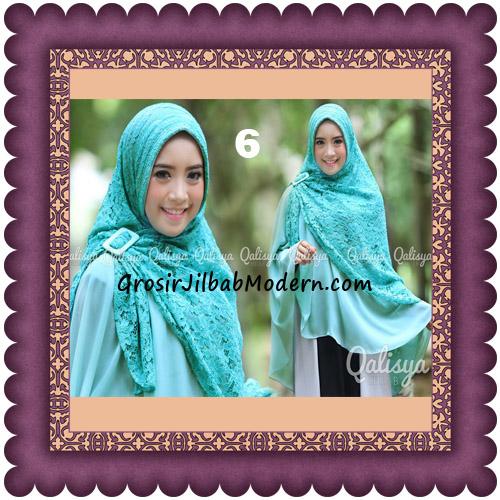 Jilbab Khimar Syar'i Halwa Brukat Modis Trendy By Qasilya Brand No 6 Tosca