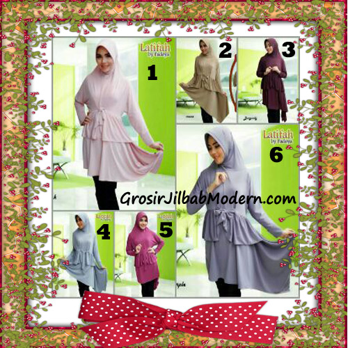 Jilbab Syar'i Lengan Modis Latifah Original By Fadeya Brand Series