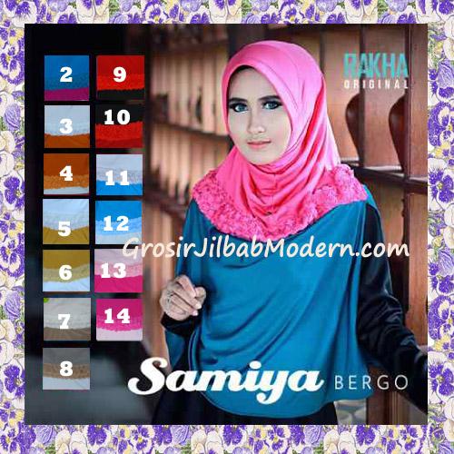 Jilbab Syar'i Trendy Bergo Samiya Cantik Original By Rakha Series