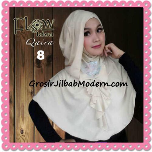 Jilbab Syria Instant Kapucong Qaira Original By Flow Idea No 8 Cream
