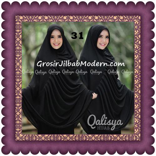 Hijab Cerutti Khimar Rafa Original by Qalisya No 31 Hitam