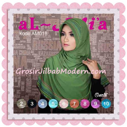 Jilbab Bergo Modis Almia Seri 18