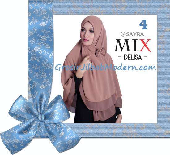 Jilbab Cerutti Modis Delisa Mix Original By Sayra No 4