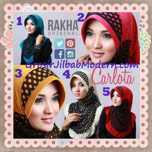 Jilbab Harian Cantik Modis Carlota Original By Rakha Brand Series