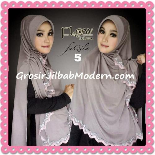 Jilbab Instan Bergo Cantik Syria Faqila Original By Flow Idea No 5 Mocca