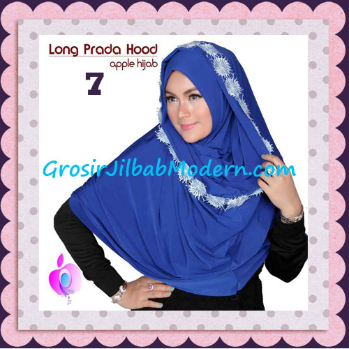 Jilbab Instant Long Prada Hoodie Modis Original By Apple Hijab Brand No 7 Elblue