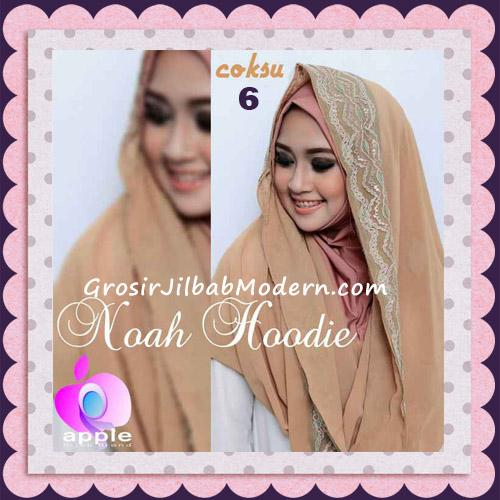 Jilbab Instant Modern Modis Noah Hoodie Original By Apple Hijab Brand No 6 Coksu