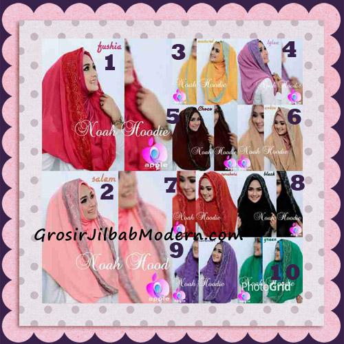 Jilbab Instant Modern Modis Noah Hoodie Original By Apple Hijab Brand Series