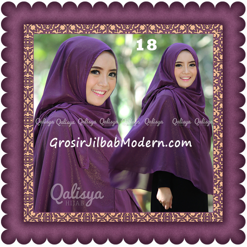 Jilbab Khimar Syar'i Trendy Halwa Non Pet XL Original by Qalisya No 18
