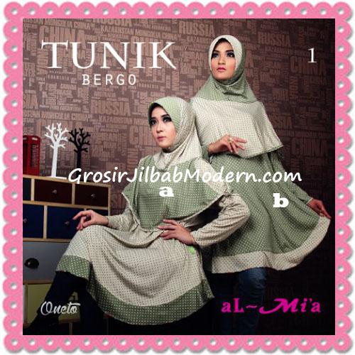 Jilbab Lengan Tunik Bergo Cantik Original By AlMia 1