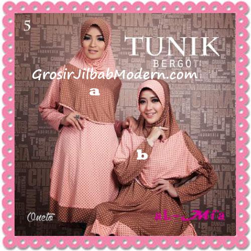 Jilbab Lengan Tunik Bergo Cantik Original By AlMia 5