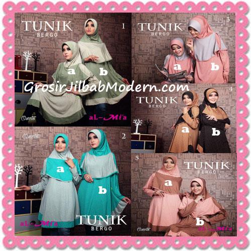 Jilbab Lengan Tunik Bergo Cantik Original By AlMia Series