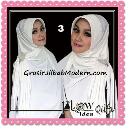 Jilbab Modern Instant Syria Qilfa Original Flow Idea No 3 Broken White