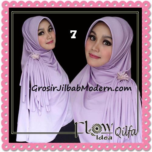 Jilbab Modern Instant Syria Qilfa Original Flow Idea No 7 Baby Ungu