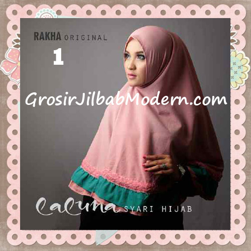 Jilbab Modern Trendy Laluna Hijab Syar'i Original By Rakha No 1