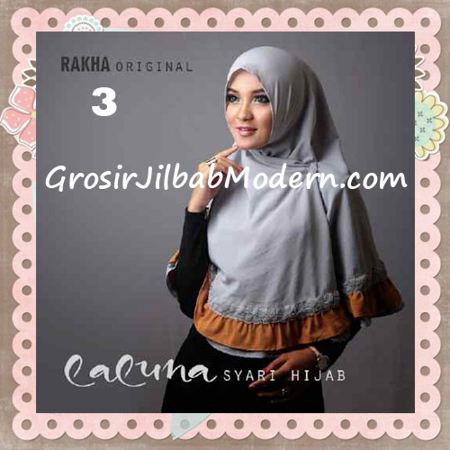 Jilbab Modern Trendy Laluna Hijab Syar'i Original By Rakha No 3