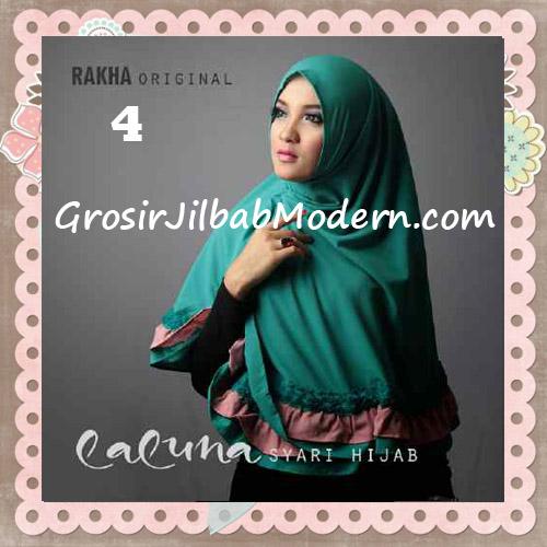 Jilbab Modern Trendy Laluna Hijab Syar'i Original By Rakha No 4