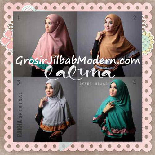 Jilbab Modern Trendy Laluna Hijab Syar'i Original By Rakha Series