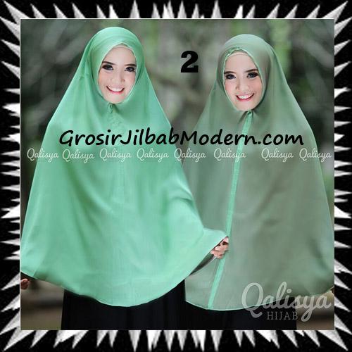 Jilbab Basic Khimar Bolak Balik Cantik Original By Qalisya No 2