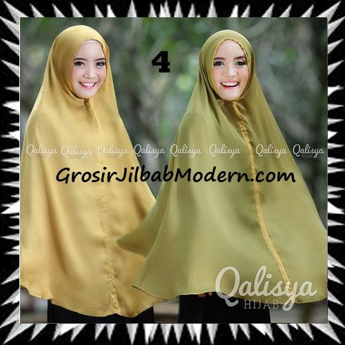 Jilbab Basic Khimar Bolak Balik Cantik Original By Qalisya No 4