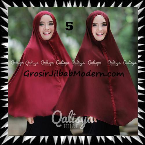 Jilbab Basic Khimar Bolak Balik Cantik Original By Qalisya No 5