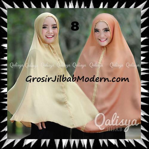 Jilbab Basic Khimar Bolak Balik Cantik Original By Qalisya No 8